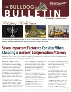 Pa Workers Compensation Lawyer
